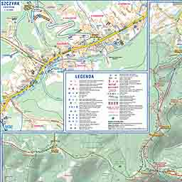 Plan Szczyrku Mapa Online Regionalny Serwis Turystyczny