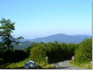 Przełęcz Salmopolska w Szczyrku - widok