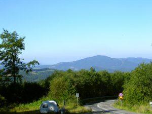 Przełęcz Salmopolska w Szczyrku