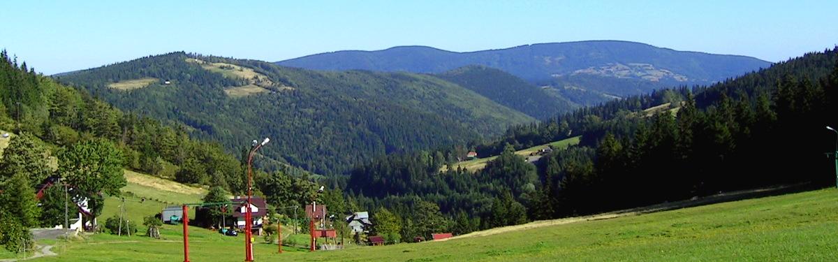 Przełęcz Salmopolska - widok