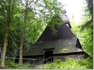 Kościół w Istebnej - Kubalonce