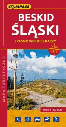Mapa - Beskid Śląski i pasmo Wielkiej Raczy