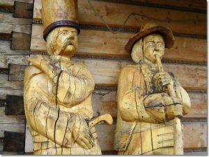 Rzeźby w Szczyrku