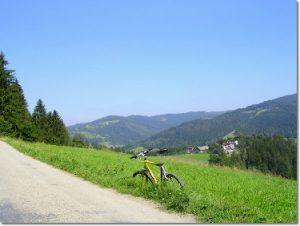 Okolice Wisły na rowerze