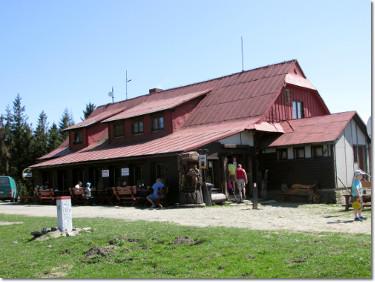 Czeskie schronisko na Czantorii