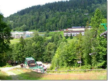 Palenica - dolna stacja wyciągu