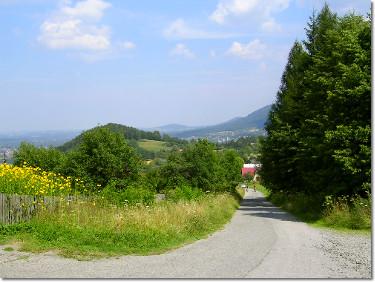Zielony szlak rowerowy
