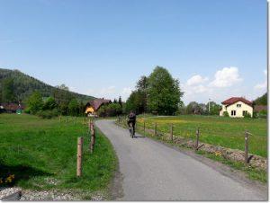 Szlak rowerowy w Brennej
