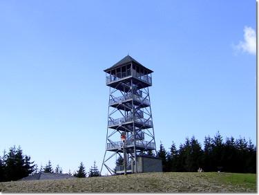 Wieża widokowa na Wielkiej Czantorii