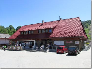 Dolna stacja kolejki na Skrzyczne