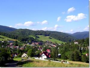 Niebieski szlak w Wiśle Jawornik