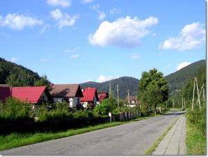 Wisła Jawornik - szlak niebieski
