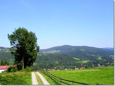 Niebieski szlak Stożek - Wisła