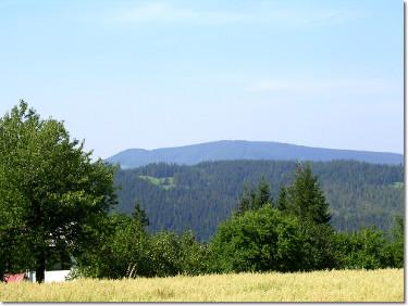 Widok z niebieskiego szlaku