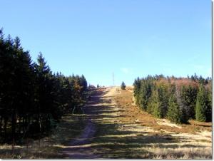 Podejście na Klimczok z Siodła