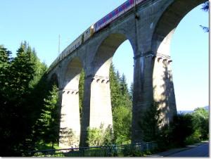 Wiadukt kolejowy Wisła Głębce