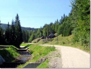 Zielony szlak na Stożek